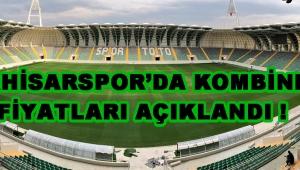 Akhisarspor'da Kombine Fiyatları Açıklandı !