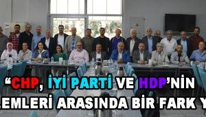 """""""CHP, İYİ Parti ve HDP'nin Söylemleri Arasında Bir Fark Yok!"""""""
