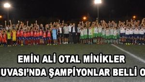 Emin Ali Otal Minikler Turnuvası'nda Şampiyonlar Belli Oldu !