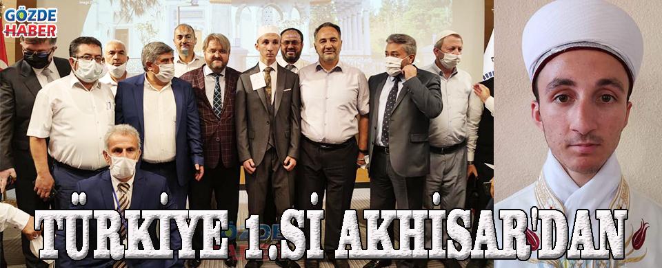 TÜRKİYE 1.Sİ AKHİSAR'DAN!