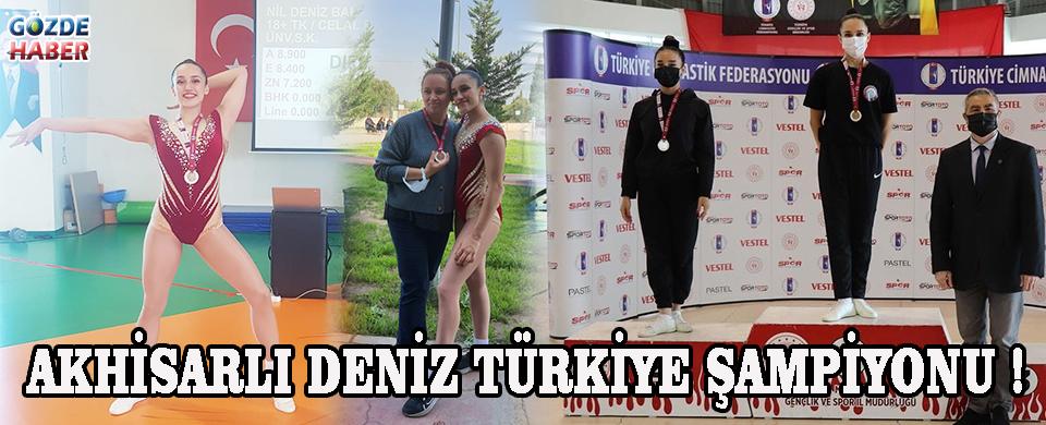 Akhisarlı Deniz Türkiye Şampiyonu