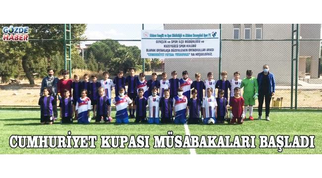 Cumhuriyet Kupası Müsabakaları Başladı!