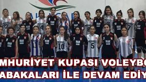 Cumhuriyet Kupası Voleybol Müsabakaları İle Devam Ediyor !