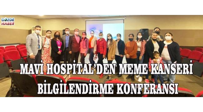 Mavi Hospital'den Meme Kanseri Bilgilendirme Konferansı!