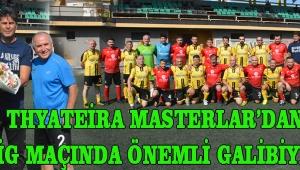Thyateira Masterlar'dan, Lig Maçında Önemli Galibiyet !