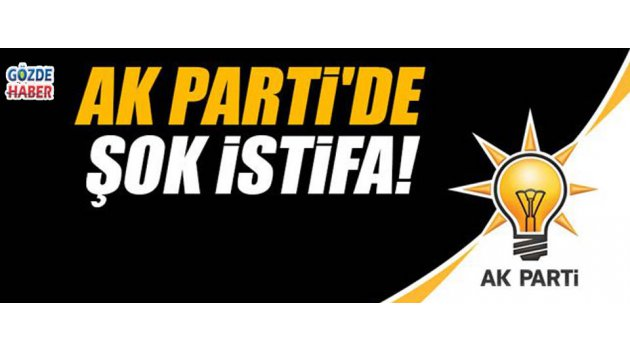 Akhisar Ak Parti'de Şok İstifa !