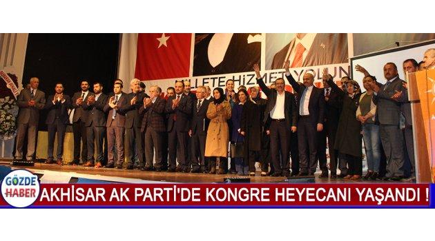 Akhisar AK Parti'de Kongre Heyecanı Yaşandı !