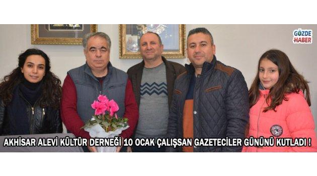 Akhisar Alevi Kültür Derneği 10 Ocak Çalışsan Gazeteciler Gününü Kutladı