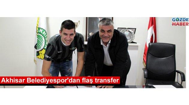 Akhisar Belediyespor'dan flaş transfer