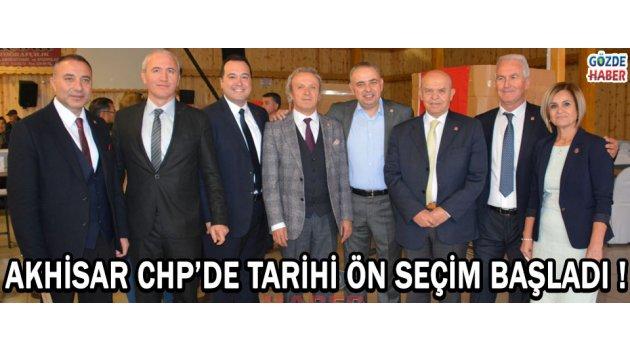 Akhisar CHP'de Tarihi Ön Seçim Başladı !