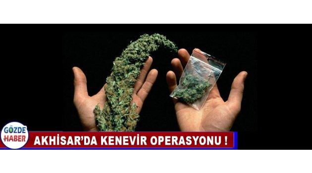 Akhisar'da Kenevir Operasyonu