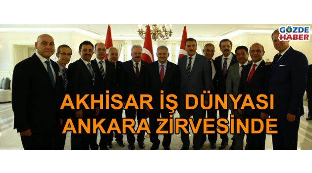 Akhisar İş Dünyası Ankara Zirvesinde