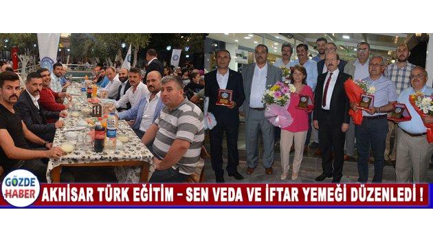 Akhisar Türk Eğitim – Sen Veda ve İftar Yemeği Düzenledi !