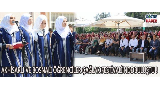 Akhisarlı Ve Bosnalı Öğrenciler Çağlak Festivali'nde Buluştu !