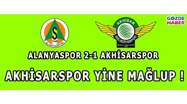 Alanyaspor 2-1 Akhisarspor