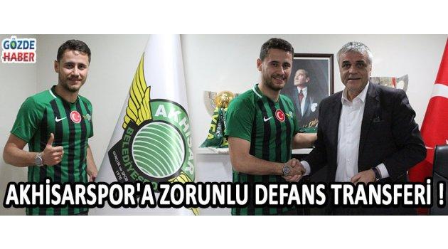 Akhisarspor'a Zorunlu Defans Transferi !