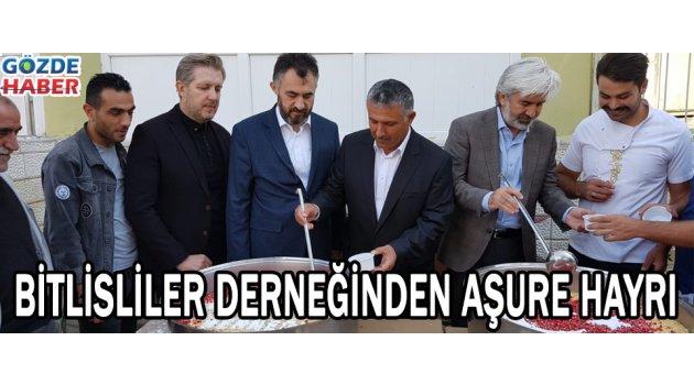 Bitlisliler Derneğinden aşure hayrı