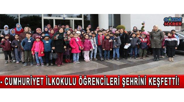 Cumhuriyet İlkokulu öğrencileri şehrini keşfetti
