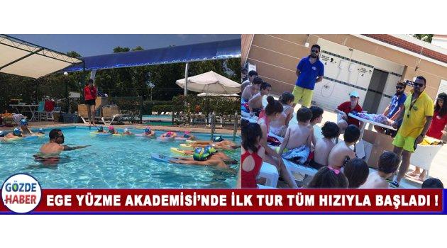 Ege Yüzme Akademisi'nde İlk Tur Tüm Hızıyla Başladı