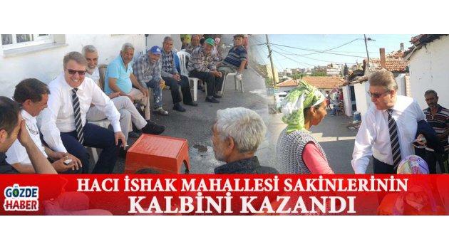 Hacı İshak Mahallesi Sakinlerinin Kalbini Kazandı