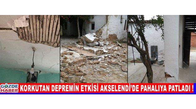 Korkutan Depremin Etkisi Akselendi'de Pahalıya Patladı !
