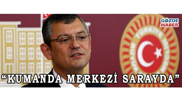 """KUMANDA MERKEZİ SARAYDA"""