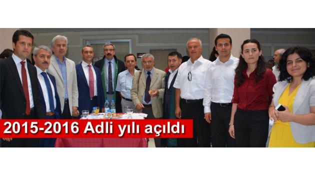 2015-2016 Adli yılı açıldı