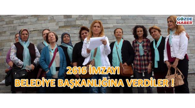 2616 imza belediye başkanlığına verdiler !