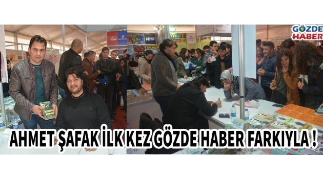 Ahmet ŞAFAK İlk Kez Gözde Haber Farkıyla !