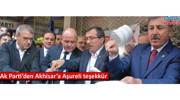 Ak Parti'den Akhisar'a Aşureli teşekkür
