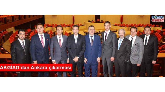 AKGİAD'dan Ankara çıkarması