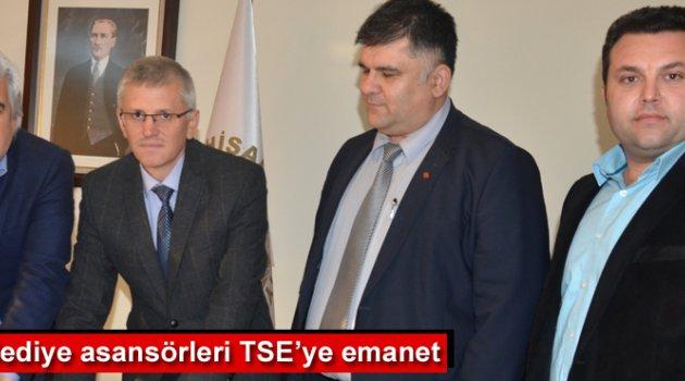 Akhisar Belediye asansörleri TSE'ye emanet