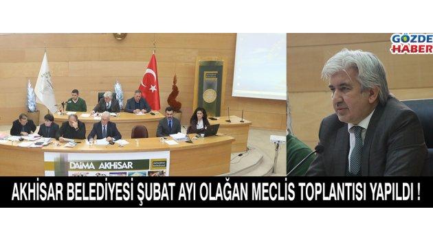 Akhisar Belediyesi 2017 Şubat Ayı olağan meclis toplantısı yapıldı !