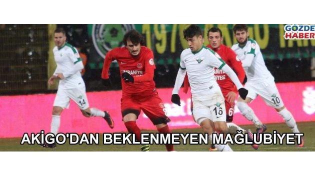Akhisar Belediyespor: 0 - Ümraniyespor: 1