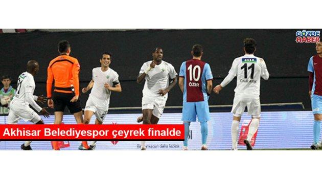 Akhisar Belediyespor çeyrek finalde