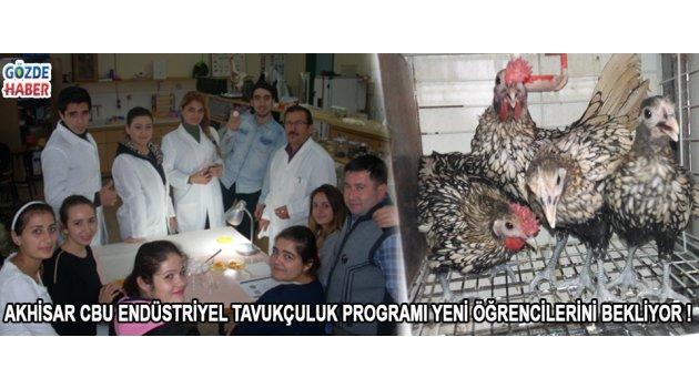 Akhisar CBU Endüstriyel Tavukçuluk Programı Yeni Öğrencilerini Bekliyor