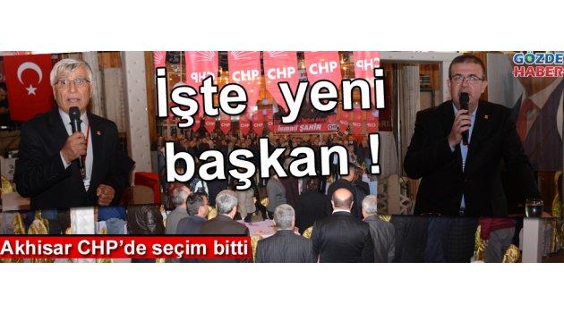 Akhisar CHP'de seçim bitti