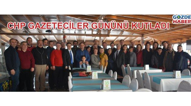 Akhisar CHP Gazeteciler gününü kutladı