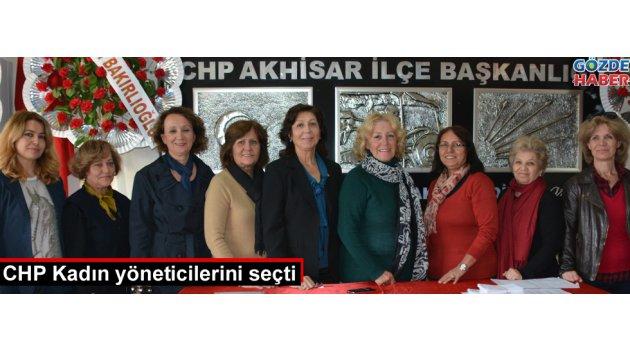 Akhisar CHP'nin yönetici kadınları