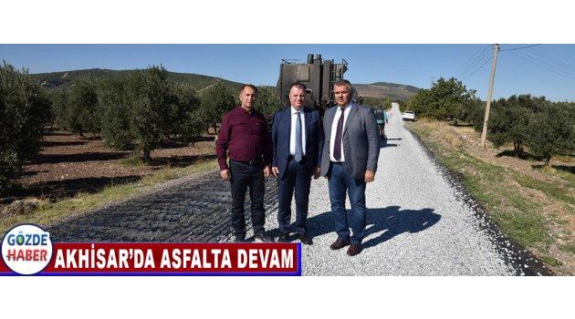 Akhisar'da Asfalta Devam