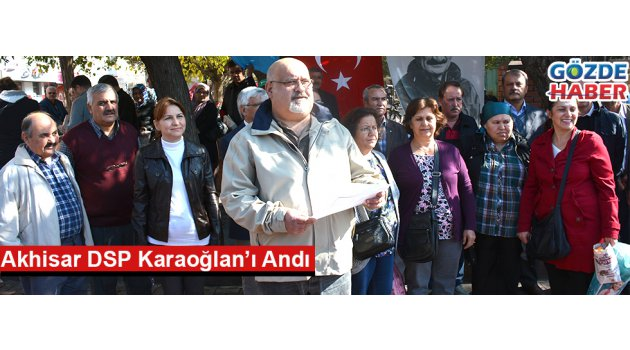 Akhisar DSP Karaoğlan'ı Andı