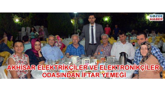 Akhisar Elektrikçiler ve Elektronikçiler Odasından İftar Yemeği