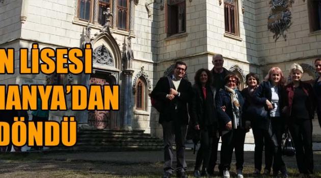 Akhisar Fen Lisesi Romanya'dan döndü
