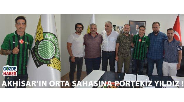 Akhisar'ın Orta Sahasına Portekiz Yıldız !