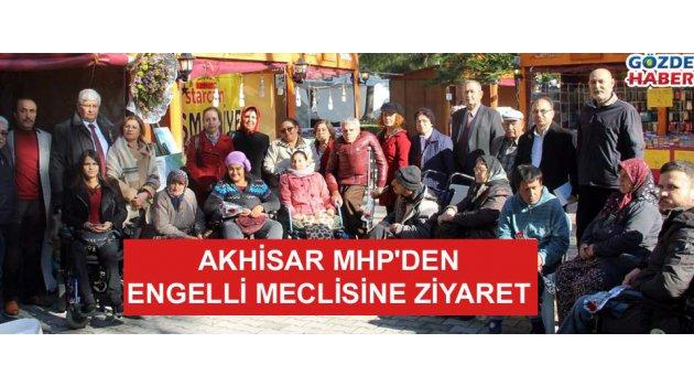 Akhisar MHP'den Engelli meclisine ziyaret