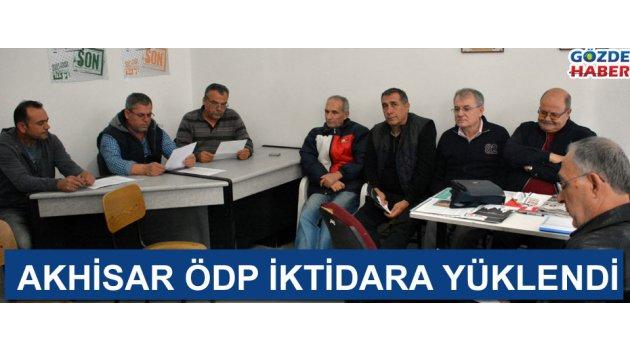Akhisar ÖDP iktidara yüklendi