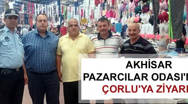 Akhisar Pazarcılar Odası'ndan Çorlu'ya ziyaret