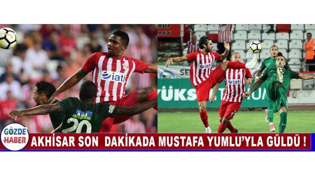 Akhisar Son  Dakikada Mustafa Yumlu'yla Güldü !