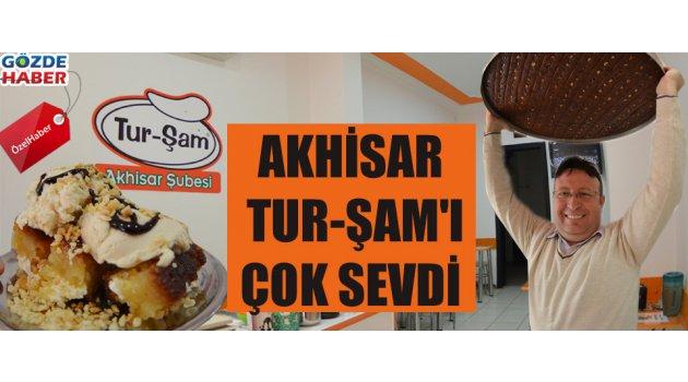 Akhisar TUR-ŞAM'ı çok sevdi