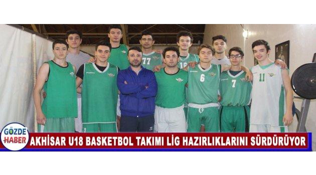 Akhisar U18 Basketbol Takımı Lig Hazırlıklarını Sürdürüyor
